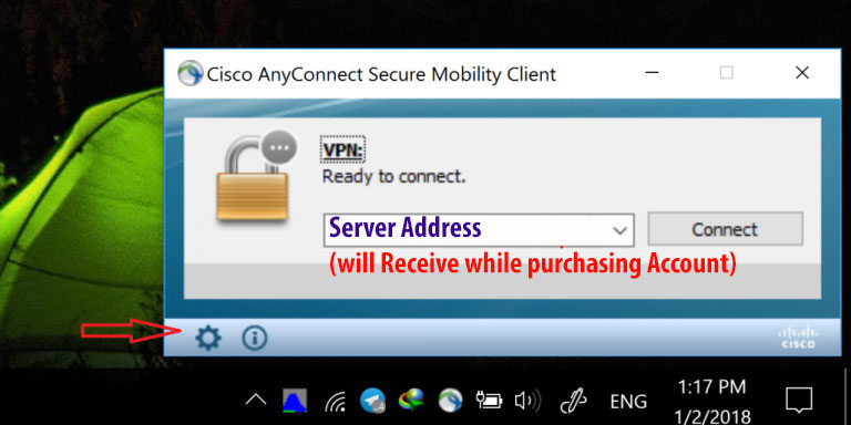 Cisco PC Learn Shuttle - how to connect cisco in pc