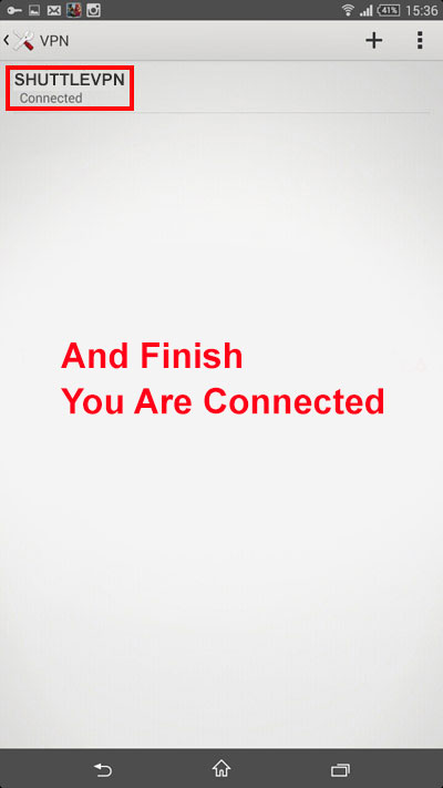 L2TP 4 - how to connect L2TP-PPTP in android
